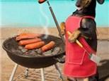 Weiner Dog Snack Plate