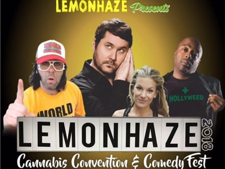 Lemonhaze Cannabis Convention and Comedy Fest