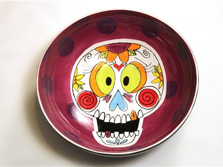 Paint Wine and Dine - October - Happy Sugar Skull