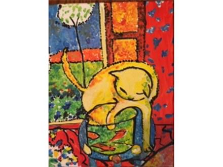 Matisse Cat Revisited