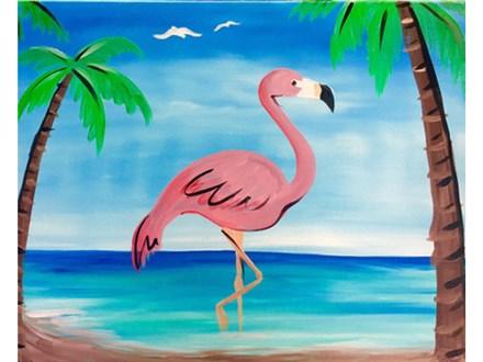 """Fancy Flamingo"""