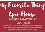 My Favorite Things - Open House - Nov 26