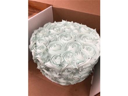 Rose Swirl-white