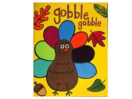 Gobble Gobble Kids Canvas - 11/17