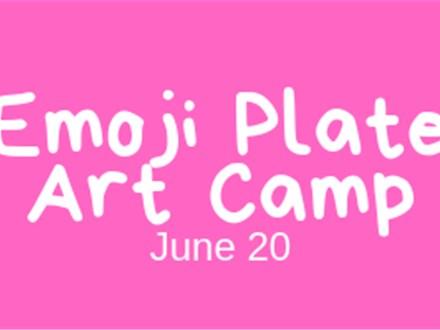 Emoji Plate Art Camp