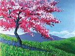 """'Full Bloom Beauty"""" Canvas Class, May 22nd"""