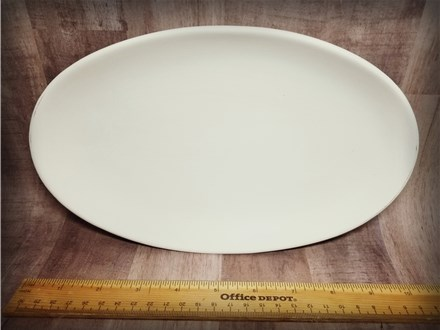 Oval Serving Dish - Ready to Paint