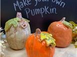 Make your own Clay Pumpkin