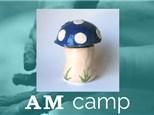 Mushroom Jar (ENCHANTED FOREST) July 12th, Morning Camp 2018