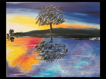 06/16 Tree Reflected 7PM $40