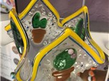 Fused Glass - Cactus Votive - 07.21.17
