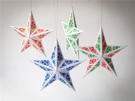 Make a Christmas Star