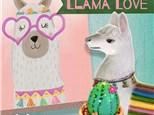 Summer artCLUB: Llama Love! August 17 - August 21