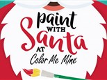 Paint With Santa: Sunday, December 9th - 9:00-11:00 AM (EVENT SOLD OUT)