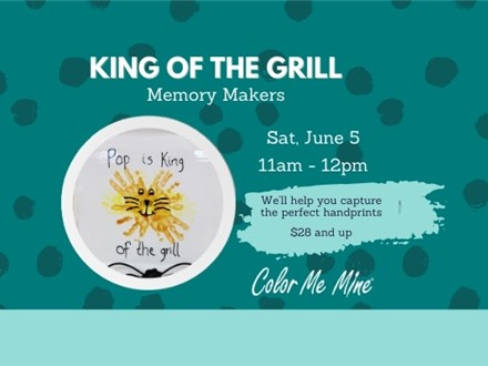 MEMORY MAKER: KING OF THE GRILL - JUNE 5