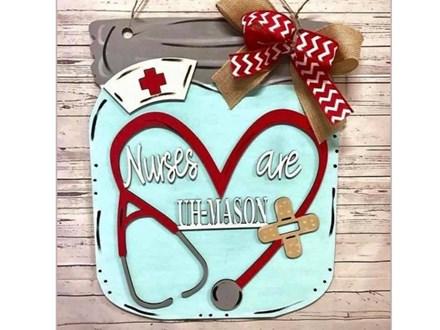 Sep. 25th Nurses are Uh-Mason Door Class