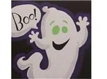 Kids' Canvas Class!  Boo!  10/28/17