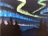 Northern Lights - Canvas Class