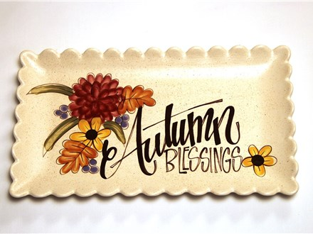 Paint Wine and Dine - September - Autumn Blessings