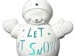 "order a giant light-up carved (15"") fleece snowman"