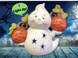 Light Up Ceramic Ghost Paint N Sip - October 19th