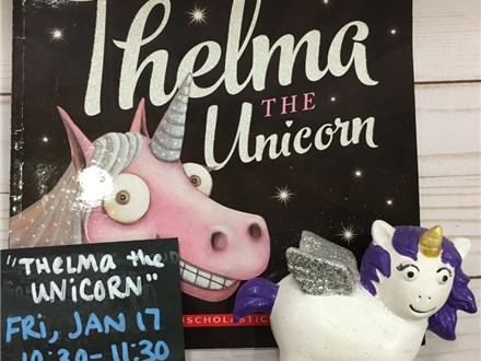 Pre-K Story Time: Thelma the Unicorn