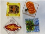 Fused Glass Ornaments - November 19th