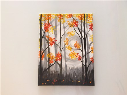 REPEAT Autumn Dusk (adult) Canvas Class