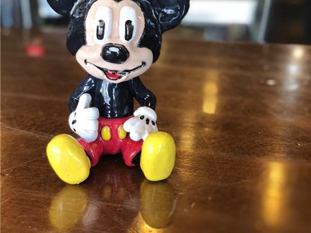 Best Of Summer 2018! Clay Mickey Mouse & Ceramic Cereal Bowl
