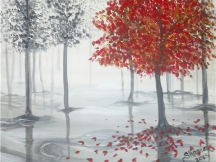 SOLD OUT!!! Autumn Trees