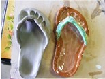 Clay Flip Flop - Home-school