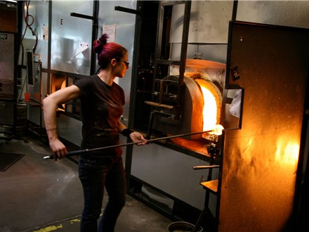 Pearl Jam - The Home Shows - glassblowing at glassybaby madrona - july 27