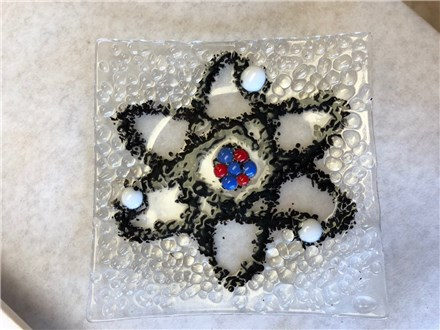 Adult Fused Glass - Big Bang Theory Dish - Evening Session - 02.28.19
