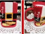 Cookies For Santa Mug ~ Pottery Class