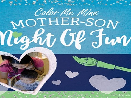 Mother and Son Night of Fun! March 3, 2018 @ 7pm