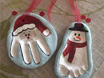 Kids Night Out -Clay Ornament Making