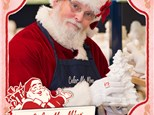 PAINT WITH SANTA AT COLOR ME MINE