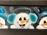 You Had Me at Merlot - Peeking Snowmen - Jan. 22nd