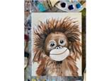 Orangutan Paint Class