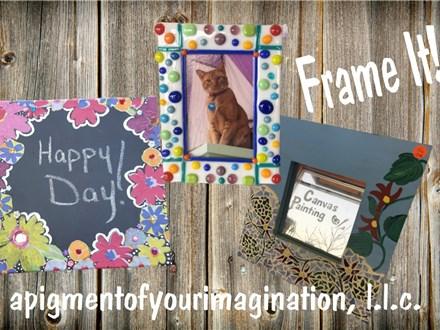 Summer Art Camp, July 9-10-11, Frame It!