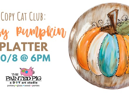 Copy Cat Club - Artsy Pumpkin (10/8)