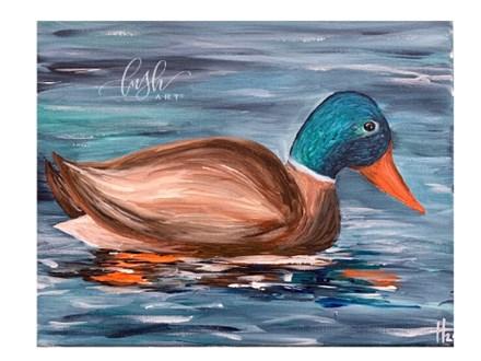 Duck Paint Class
