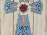 "Sip-N-Paint ""Rustic Cross"" (Sat. 10/24)"
