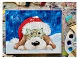 Santa Pup Paint Class