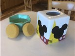 """""""Mickey Mouse Week"""" - Mickey Tissue Box & Soap Pump, Crafts, & Movie! Tuesday, Aug 11th: 10am-3pm"""