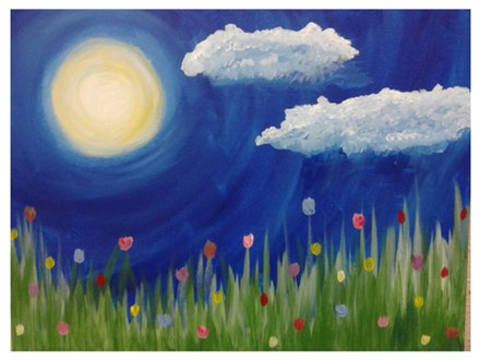 Tulips in Bloom - Paint & Sip - May 20