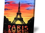 """""""Paris"""" - Canvas Painting for Adults. Thursday, September 27th 2018"""