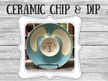 Ceramic - Bunny Chip and Dip