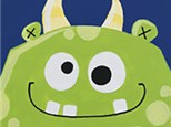 Kids Canvas Painting - Monster Madness! Sunday, October 22nd