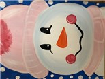 Snowman Canvas for Kids - December 27th 1-3pm